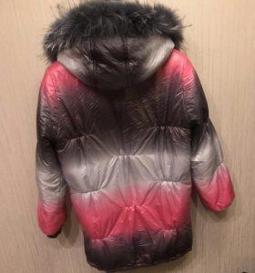 Зимняя куртка для будущих мам)