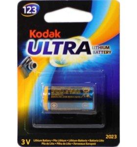 Kodak ultra 123, 3v