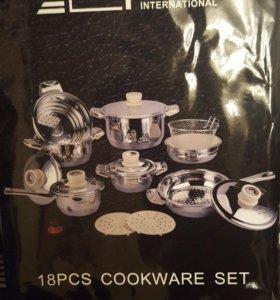 СрочноНабор посуды 18 предметов