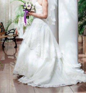 Свадебное платье Bella, р-р 44-46