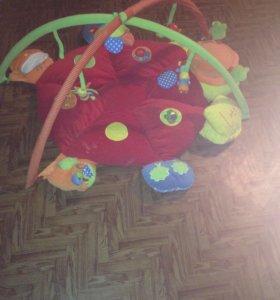 Детский развивающий, музыкальный коврик