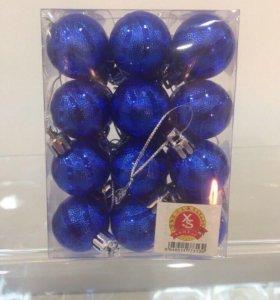 Ёлочные игрушки шарики