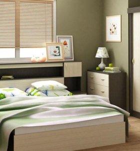 Спальня Бася набор 7 предметов. Новая. В наличии.