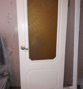 Дверь б/у 80х200