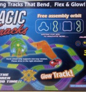 Светящийся автотрек Magic Tracks 301 деталь