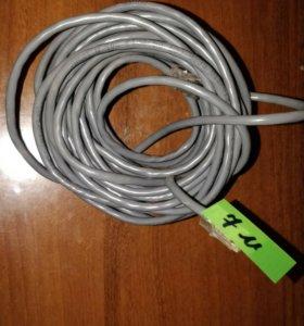 Сетевой кабель, 7 метров