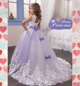 Роскошное детское платье