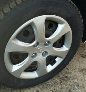 Hyundai kia колпаки r15 4 на 100