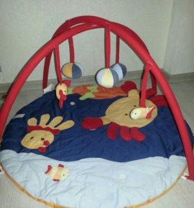 Развивающий коврик Ludi+подарок