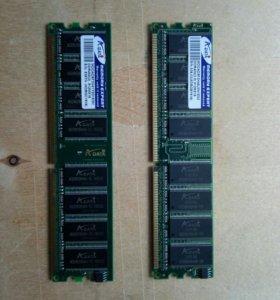 Оперативная память ddr-1 - 6 штук по 512Мб