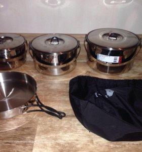 Походный набор посуды Tatonka Family set M