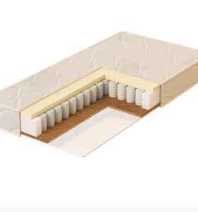 Кроватка трансформер с матрасом