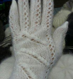 Перчатки из пуха