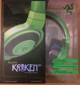 Игровые наушники Razer Kraken Pro, Green