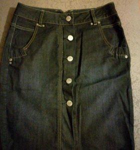 Юбка джинсовая 36