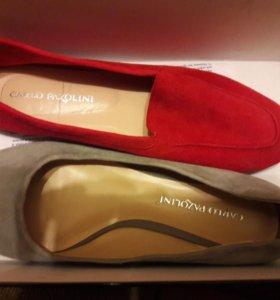 Много дорогой качественной обуви