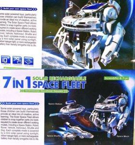 Конструктор SPACE FLEET 7 в 1.