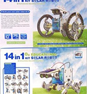 Конструктор SOLAR ROBOT - 14 роботов в 1