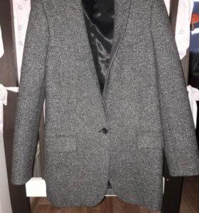 Удлиненный пиджак жакет зара zara