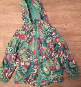 Демисезонная куртка ветровка баркито