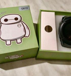 Детские часы Smart Baby Watch c GPS-трекером Q 610