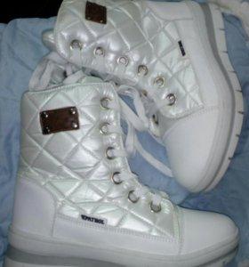 Ботинки сапожки женские зимние PATROL + 🎁