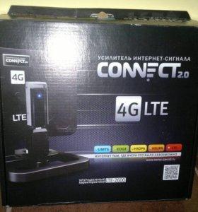 Усилитель 3G и 4G модемов.В отличном состоянии