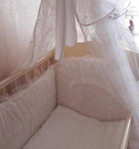 Комплект в кроватку 7 предметник