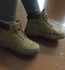 Тимберленды зимняя обувь