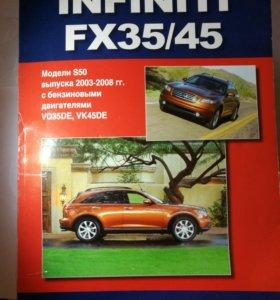 Книга автодата для infinity fx35 и fx45