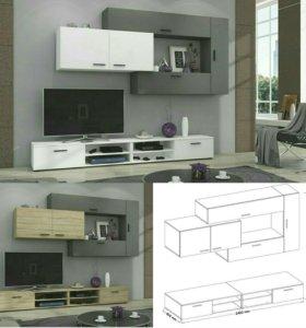 Новая мебельная стенка