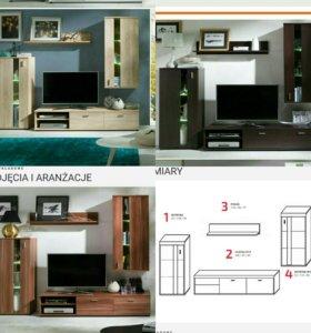 Мебельная стенка Рома.