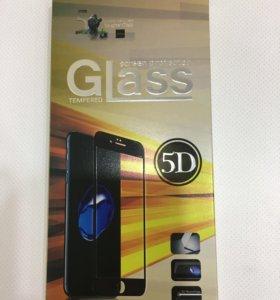Защитное стекло 5 D для IPhone X