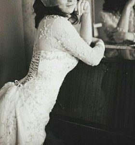 Свадебное платье дизайнера Екатерины Селиверстовой
