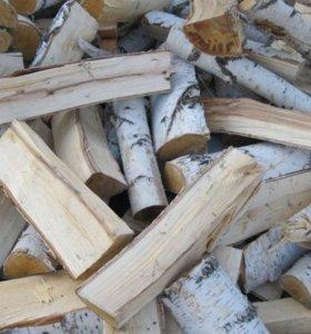 дрова колотые береза с доставкой