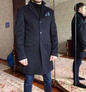 Пальто мужское , шерсть