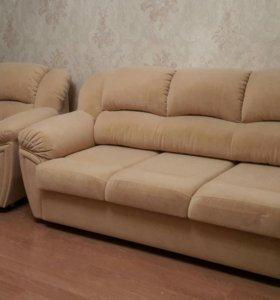 Диван и 2 кресла(новые) не подошел цвет.
