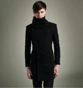 Пальто молодёжное чёрный цвет торг