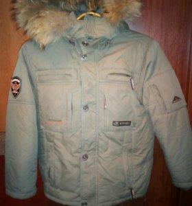 Куртка зимняя на мальчика(ARISTA), р.134