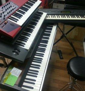 Ремонт синтезаторов, цифровых пианино.