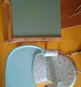 Детский стол, стул!