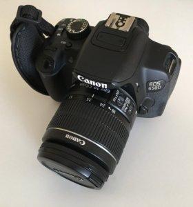Продам Canon 650d