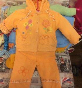 Детский костюм весна