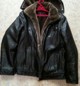 Зимняя куртка, мужская размер 52