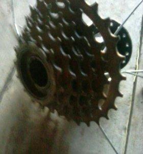 Кассета задняя для велосипеда