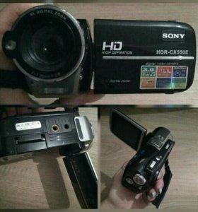 """Видеокамера Sony HDR-""""CX550E"""