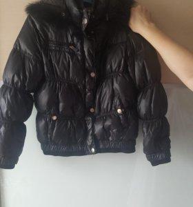 Куртка. Зима. Пух .