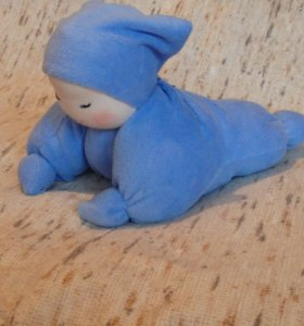 Вальдорфская игрушка бабочка для новорожденных