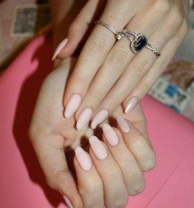Маникюр, покрытие ногтей гель-лаком 💅