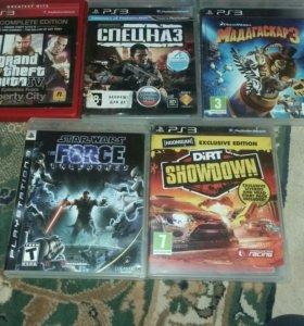 диски лля PS3